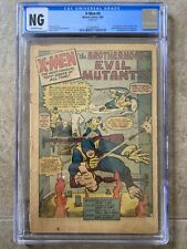 X-Men #4 CGC OFF-WHITE Pgs 1st Appearance Scarlet Witch, Quicksilver & Toad 1964