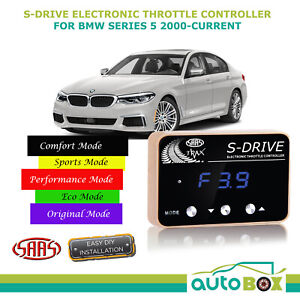 SAAS S Drive for BMW 5 Series 2000-Current SAAS Electronic Throttle Controller