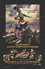 FLASHMAN! original 1975 movie poster MALCOLM MCDOWELL, OLIVER REED, BRITT EKLAND