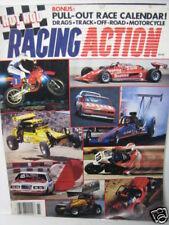 1985 HOT ROD RACING ACTION Magazine