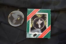 Keep Sake Christmas Ornament Acrylic Ornament Promise Of Peace In Great Conditio