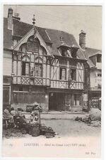 Hotel du Grand Cerf Louviers France postcard