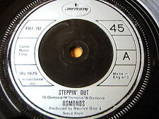 "THE OSMONDS - STEPPIN' OUT    7"" VINYL"