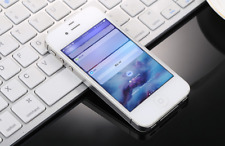 For Apple iPhone 4 32GB Sprint Unlocked 3G LTE Smartphone White Good Condition