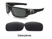 Galaxy Replacement Lenses For Oakley Crankshaft Black Polarized 100%UVAB