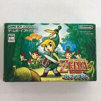 GBA THE LEGEND OF ZELDA Fushigi no Boushi Nintendo Game Boy Advance GBA JAPAN