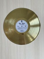 Dr. Dre - The Chronic 1992 Vinyl Custom Gold Plated Record Excellent Condition