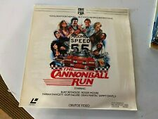 The Cannonball Run Film 1984 Laserdisc