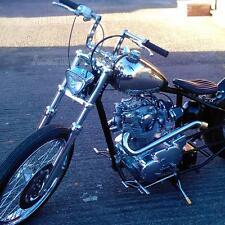 """Chrome Narrow Z-Bars 1"""" Handlebars Fit Harley Sportster Dyna Chopper Bobber US"""