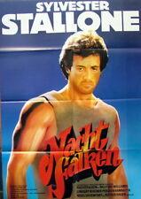 Sylvester Stallone NIGHTHAWKS original vintage german 1 sheet movie poster 1981