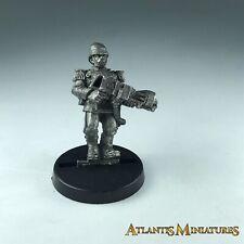 Metal Praetorian Flame Thrower Imperial Guard - Warhammer 40K X1906