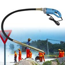 1300W Electric Concrete Vibrator Construction Tool Air Bubble Remover + Hose