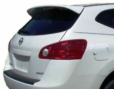 2008-2014 REAR TRUNK SPOILER FOR A NISSAN ROGUE OE STYLE - UNPAINTED GRAY ABS