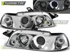 Headlights For FIAT PUNTO 1 11.93-09.99 ANGEL EYES CHROME..