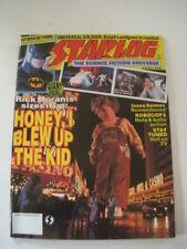 STARLOG Magazine #181 AUGUST 1992, HONEY I BLEW UP THE KID Cover, BATMAN RETURNS