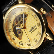 Men's Mechanical (Hand-winding) Unbranded Casual Watches