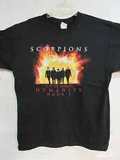 NEW - SCORPIONS HUMANITY HOUR BAND / CONCERT / MUSIC T-SHIRT EXTRA LARGE