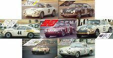 Calcas Porsche 911S Le Mans 1969 1:32 1:43 1:24 1:18 911 slot decals