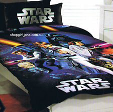 Star Wars - Luke & team - Disney - Single/US Twin Bed Quilt Doona Duvet Cover