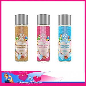 Candy Shop Jo Lubricants 60ml Water Based Butterscotch Cotton Candy Bubble Gum