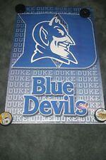 Duke Blue Devils Logo  Original Starline Poster OOP Sealed 2015