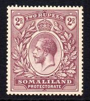 Somaliland 2 Rupee Stamp c1921 Mounted Mint   (1653)