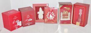 Lenox Christmas Holiday Ornament Decoration - NIB - Choice