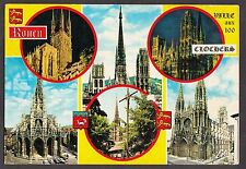 C. 1970s Multiview of Rouen Cathedral, France