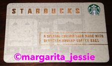 "STARBUCKS U.S. 2016 GIFT CARD ""BURLAP"" NEW NO VALUE 6118 RECYCLED COFFEE BAGS"