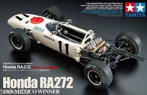 Tamiya 20043 1/20 Scale Model Formula One Kit Honda RA272 1965 Mexico GP Winner