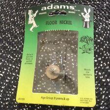Ss Adams Floor Nickel- Vintage Gag/Prank/Joke- Bnip