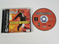 Mission: Impossible (Sony PlayStation 1, 1999 PS1) - Complete w/ Manual, Tested