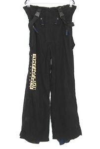 NAPAPIJRI Black Ski Snowboarding Trousers Salopettes Men Size M DZ285