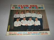 CLUB DES CHANSONNIERS 33 TOURS FRANCE LEO FERRE