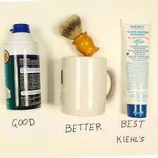 Kiehls Close Shavers Squadron Ultimate Brushless Shaving Cream Blue Eagle 1 TUBE