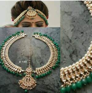 Kundan Matha Patti For Head Queen Fashion Design Traditional Ethnic Dulhan Tone