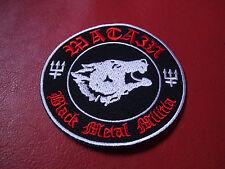 Watain Patch Black Metal Militia Taake Carpathian Forest Shining