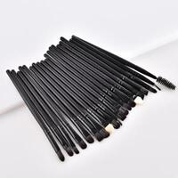 20PCS Eyeshadow Eyebrow Blending Brush Set Eye Makeup Brush Cosmetics Brush Tool