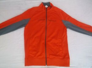 Under Armour Orange and Gray Polyester Gym/Sports Jacket Men's Sz. M