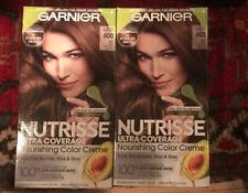 Garnier Nutrisse Hair Color Deep Light Natural Brown 600 SPICED HAZELNUT 2 Boxes