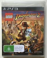 LEGO Indiana Jones 2 The Adventure Continues (PlayStation 3) Factory Sealed New