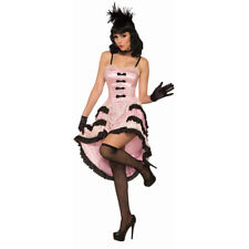 Womens Rose The Cancan Dancer Western Costume