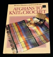 Afghans to Knit & Crochet - Better Homes and Gardens