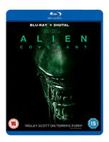 Alien: Covenant Blu-Ray (2017) Michael Fassbender, Scott (DIR) cert 15