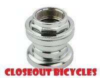 Bicycle Headset 22.2x32.5x27mm Chrome. BMX MTB Cruiser Road City Bike
