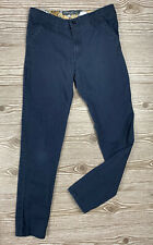 Boys Eddie Bauer School Uniform Navy Blue Pants Slacks Size 14 Euc