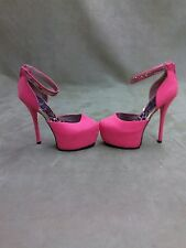 Platform High Heels Pumps Women Shoes size 7 Pointy Toe Body Central Pink