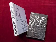 Buch, Bruno Apitz, Nackt unter Wölfen, Illus Fritz Cremer, MDV Halle 1960