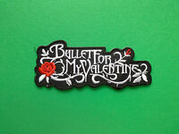 HEAVY METAL PUNK ROCK MUSIC SEW ON / IRON ON PATCH:- BULLET FOR MY VALENTINE (c)