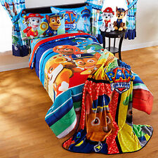 Paw Patrol Puppy Hero Nick Jr. Full Comforter & Sheets (5 Piece Kids Bedding)